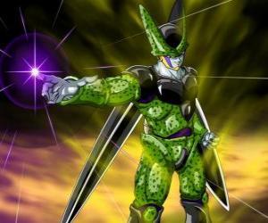 Układanka Cell, ostatecznym tworzenia Gero lekarza. Sztuczne formy życia utworzone za pomocą komórki z Goku i innych znaków
