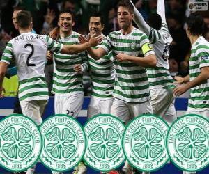 Układanka Celtic FC mistrz 2013-2014