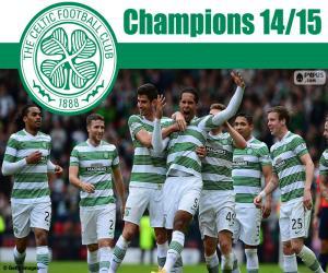 Układanka Celtic FC mistrz 2014-2015
