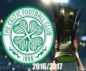 Układanka Celtic FC mistrz 2016-2017