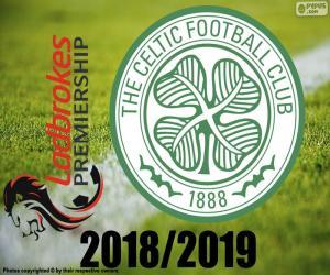 Układanka Celtic FC, mistrz 2018 2019 r.