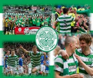 Układanka Celtic FC, mistrz Scottish Premier League 2011-2012