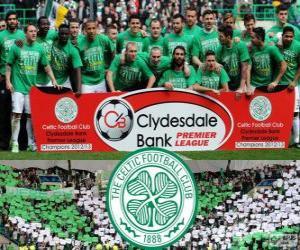 Układanka Celtic FC, mistrz Scottish Premier League 2012-2013