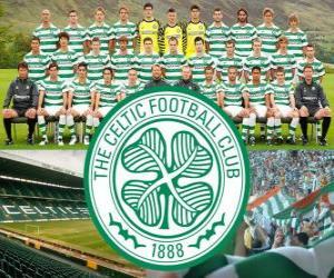 Układanka Celtic FC, znany jako Celtic Glasgow, szkocki klub piłkarski