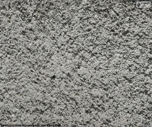 Układanka Cementu surowca ścienne