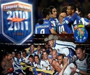 Układanka Champion League FC Porto portugalski 2010-11