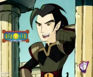 Układanka Chase Young, potężnym wrogiem dla wojowników Xiaolin