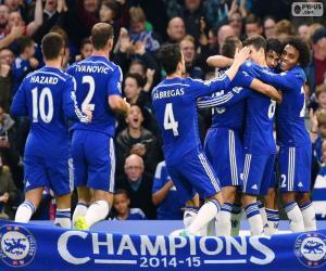 Układanka Chelsea FC mistrz 2014-15