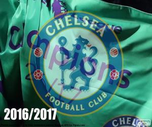 Układanka Chelsea FC mistrz 2016-2017