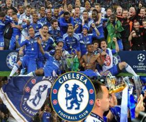 Układanka Chelsea FC, mistrz Ligi Mistrzów 2011-2012 UEFA