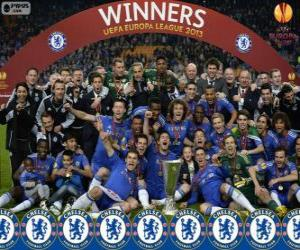 Układanka Chelsea FC, mistrz UEFA Europy League 2012-2013
