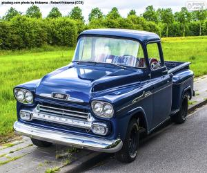 Układanka Chevrolet Apache, 1959