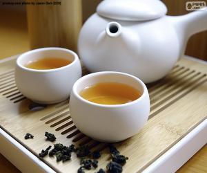Układanka Chińska herbata