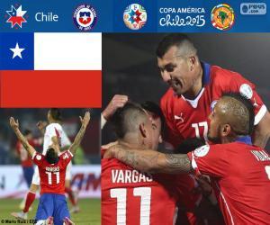 Układanka CHI finalistą, Copa America 2015
