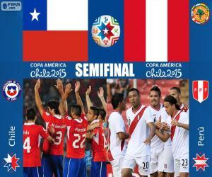 Układanka CHI - PER, Copa America 2015