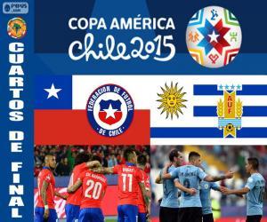 Układanka CHI - URU, Copa America 2015