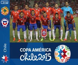 Układanka Chile Copa America 2015