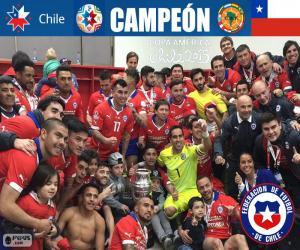 Układanka Chile, mistrz Copa America 2015
