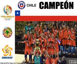 Układanka Chile, mistrz Copa America 2016