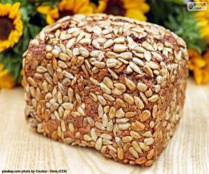 Układanka Chleb z nasion słonecznika