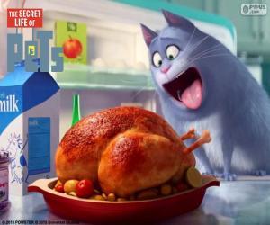Układanka Chloe kot
