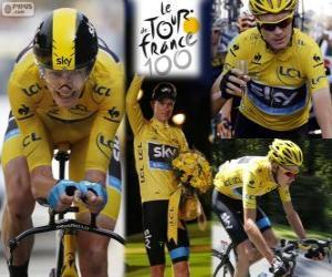Układanka Chris Froome, Tour de France 2013