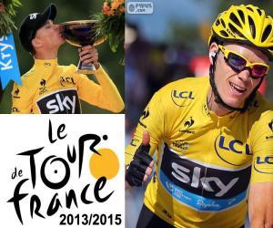 Układanka Chris Froome, Tour de France 2015