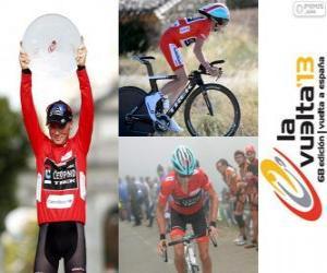 Układanka Chris Horner mistrz Tour Hiszpania 2013