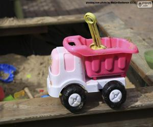 Układanka Ciężarówka z chylotami