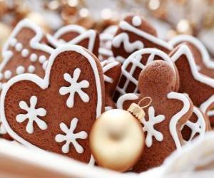 Układanka Ciasteczko Boże Narodzenie w różnych formach