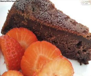 Układanka Ciasto czekoladowe