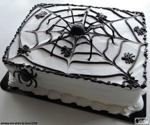 Układanka Ciasto Halloween
