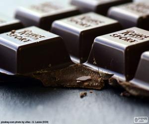 Układanka Ciemna czekolada Tablet
