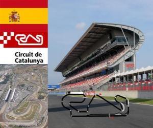Układanka Circuit de Catalunya - Hiszpania -