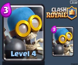 Układanka Clash Royale bombowiec