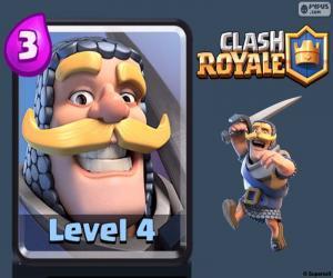 Układanka Clash Royale rycerz