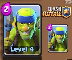 Układanka Clash Royale Spear Goblins