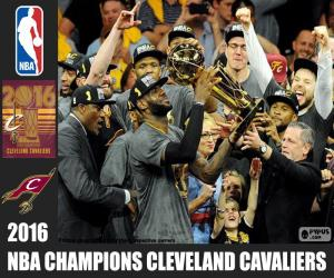 Układanka Cleveland Cavaliers, mistrz NBA 2016
