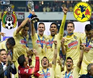 Układanka Club America, mistrz Apertura Meksyk 2014