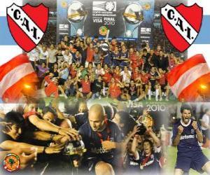 Układanka Club Atlético Independiente Champion IX 2010 Copa Sudamericana
