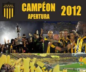 Układanka Club Atlético Peñarol mistrz Torneo Apertura 2012, Urugwaj