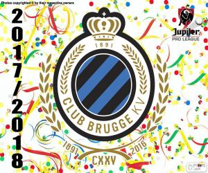 Układanka Club Brugge KV, Pro League 2018 r.