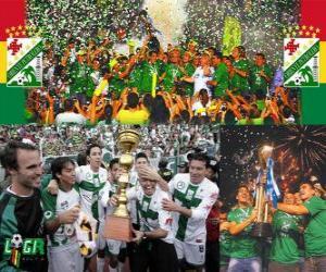Układanka Club Deportivo Oriente Petrolero mistrz Clausura 2010 (Boliwia)