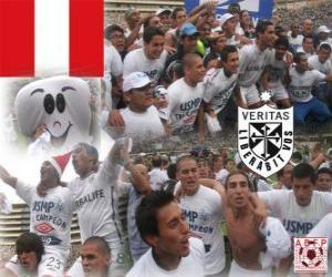 Układanka Club Deportivo Universidad San Martin de Porres zdecentralizowany Champion Championship 2010 (Peru)