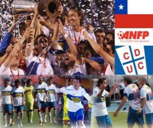 Układanka Club Deportivo Universidad Católica Champion Ogólnopolskiego mistrzostwo 2010 (Chile)