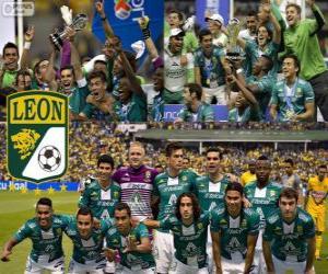 Układanka Club León F.C., mistrz Apertura Meksyk 2013
