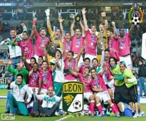 Układanka Club León F.C., mistrz Clasura Meksyku 2014