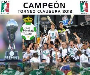Układanka Club Santos Laguna, mistrz Clausura Meksyku 2012