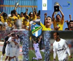 Układanka Club Social y Deportivo Comunicaciones mistrzem Apertura 2010 (Gwatemala)