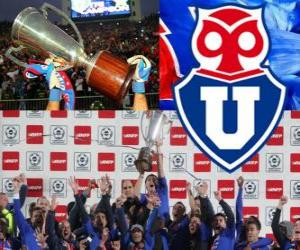 Układanka Club Universidad de Chile, Mistrz chilijski Apertura 2012